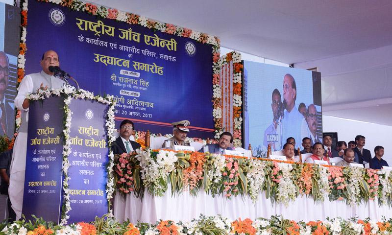Stone pelting reduced in Kashmir, says Rajnath Singh