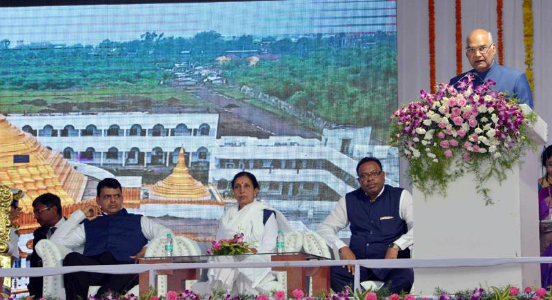 Nagpur has potential to become centre of development: Kovind