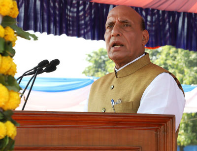 Police must be civilised, not a brute force, Rajnath Singh says