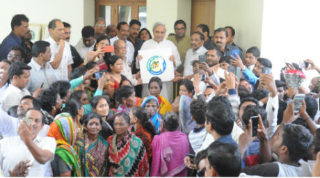 Naveen Announces Welfare Schemes For Unorganised Labourers