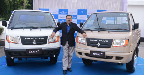 Ashok leyland launches the dost with 275 ton gvw to address the bhubaneswar ashok leyland flagship of the hinduja group and one of the largest commercial vehicle manufacturers in india launched the dost the new mozeypictures Image collections