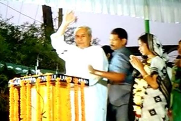 Shoes hurled at Odisha CM during by-poll campaign