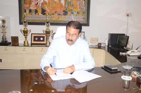 Rajiv Ranjan Mishra Takes Additional Charge As Chairman Cum Managing Director Of Mahanadi