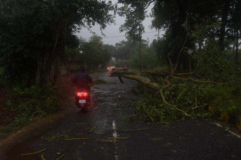 Cyclone Titli makes landfall in Odisha crosses coast