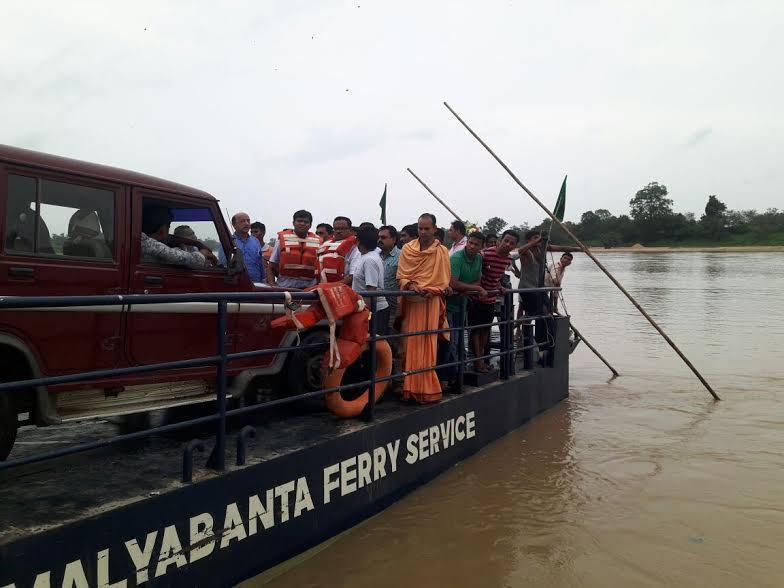 Odisha administration launches RoRo vessel services in river