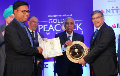 Tata Steel bags 'Golden Peacock HR Excellence Award' - OdishaDiary