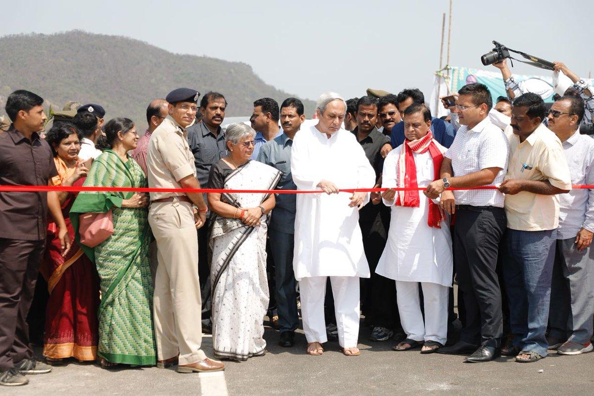 CM Naveen Patnaik Inaugurates western Odisha's longest
