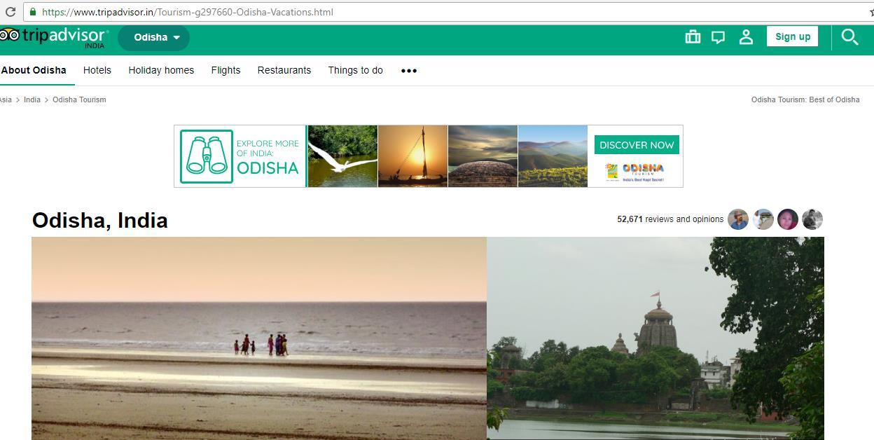 Odisha Tourism Signs Content Partnership With TripAdvisor To