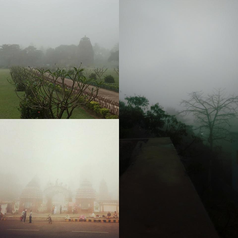 Puri Canal Road Bhubaneswar: Dense Fog Covered The Entire Odisha Capital City