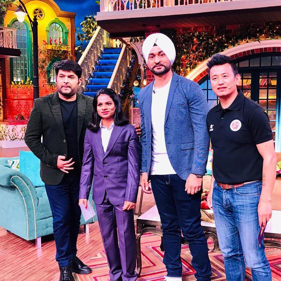 Globally popular television show 'The Kapil Sharma Show