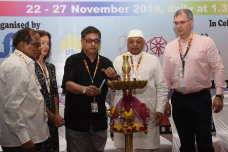 Image result for OPEN FORUM 50TH IFFI 2019 INAUGURATED