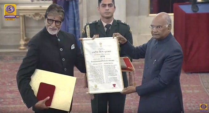 Abhishek Bachchan praises father Amitabh Bachchan on receiving Dadasaheb Phalke Award